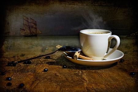"""""""La Ruta del Cafè"""", de Nicolas Moulin, 1r premi a la fotografia amb retoc."""