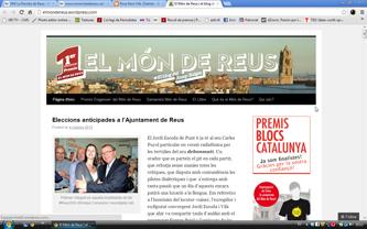Portada del bloc de Josep Baiges