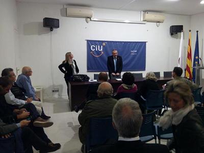 Foto difosa pel twitter oficial de CiU