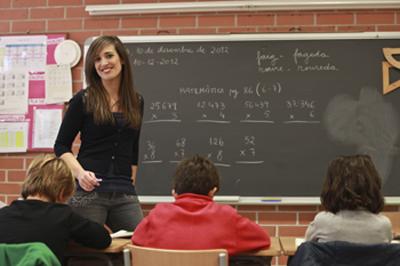 Laia Capdevila, la capitana, és mestra.