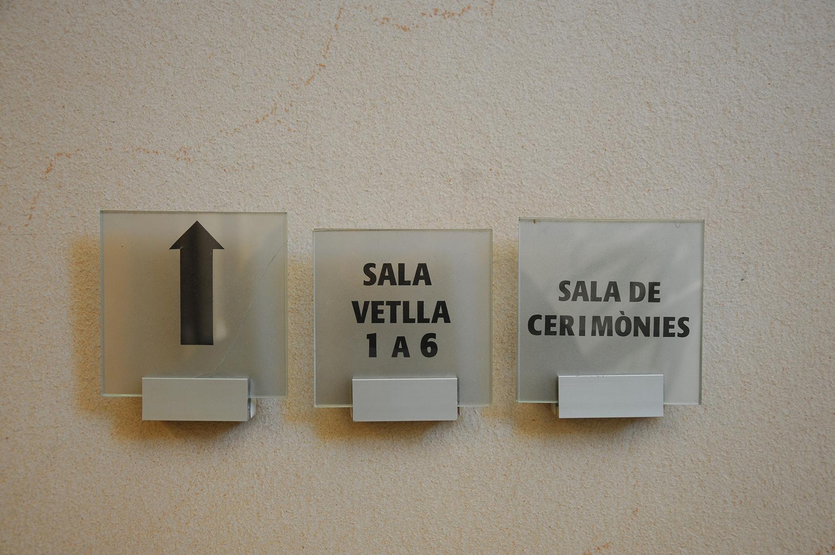 Detall de les instal·lacions del tanatori municipal