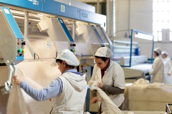 A l'empresa treballen una quarantena de persones a l'estiu, la majoria de les quals són dones.