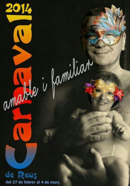 El cartell triat enguany per anunciar el Carnaval.
