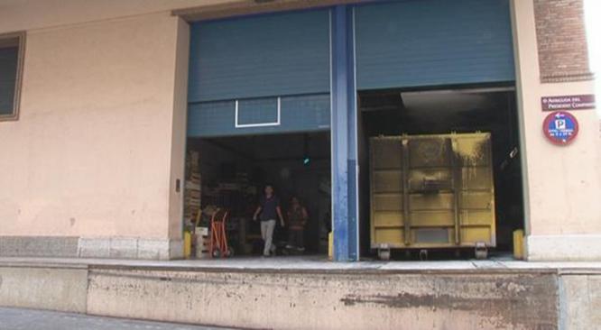Imatge de Canal Reus TV que mostra el lloc on s'ha produït l'incendi.