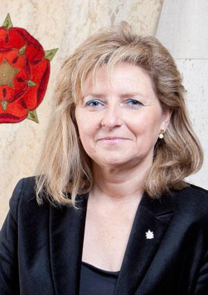 La foto oficial de Teresa Pallarès a l'Ajuntament de Reus