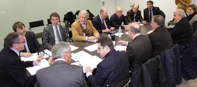 Una imatge de la darrera reunió celebrada per la Junta General de Tecnoparc