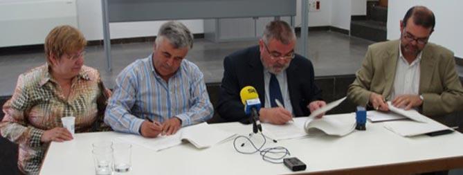 Lluís Nualart, segon per la dreta de la foto