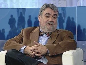 Lluís Nualart, en una intervenció al Canal Reus TV