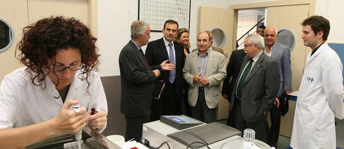 'empresa Shirota Foods va rebre, durant la passada legislatura, la visita de Juan Tomás Hernani, aleshores Secretari General d'Innovació del Ministeri de Ciència i Tecnologia