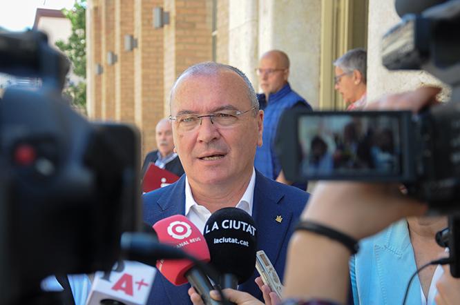 Carles Pellicer és, ara per ara, el probable alcalde.