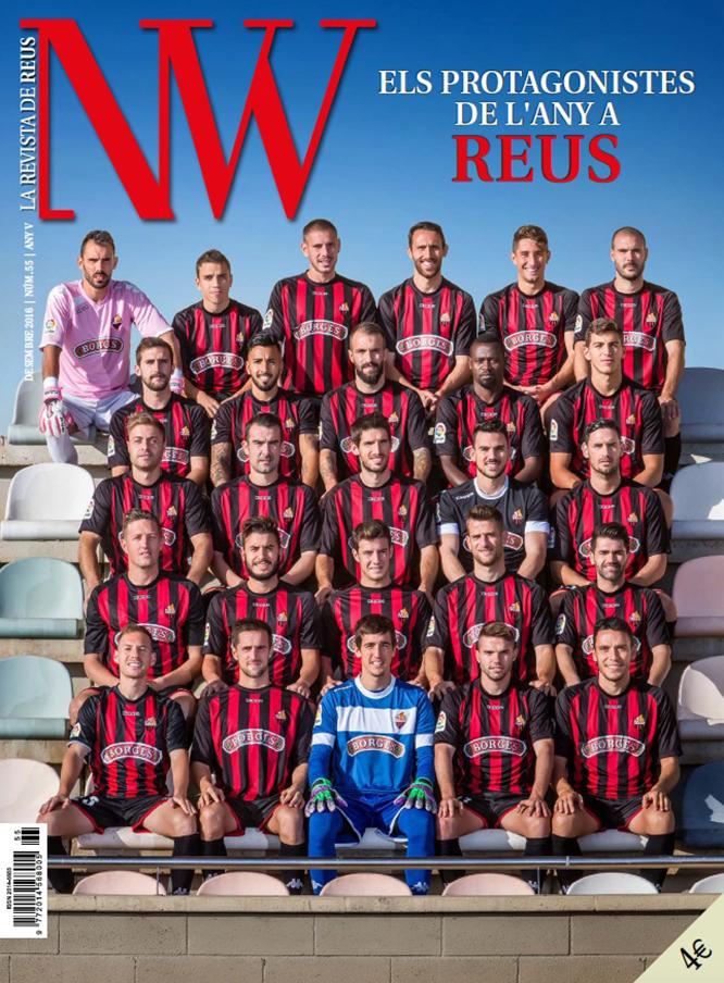 La portada de la revista, obra del fotògraf Carles Fargas.