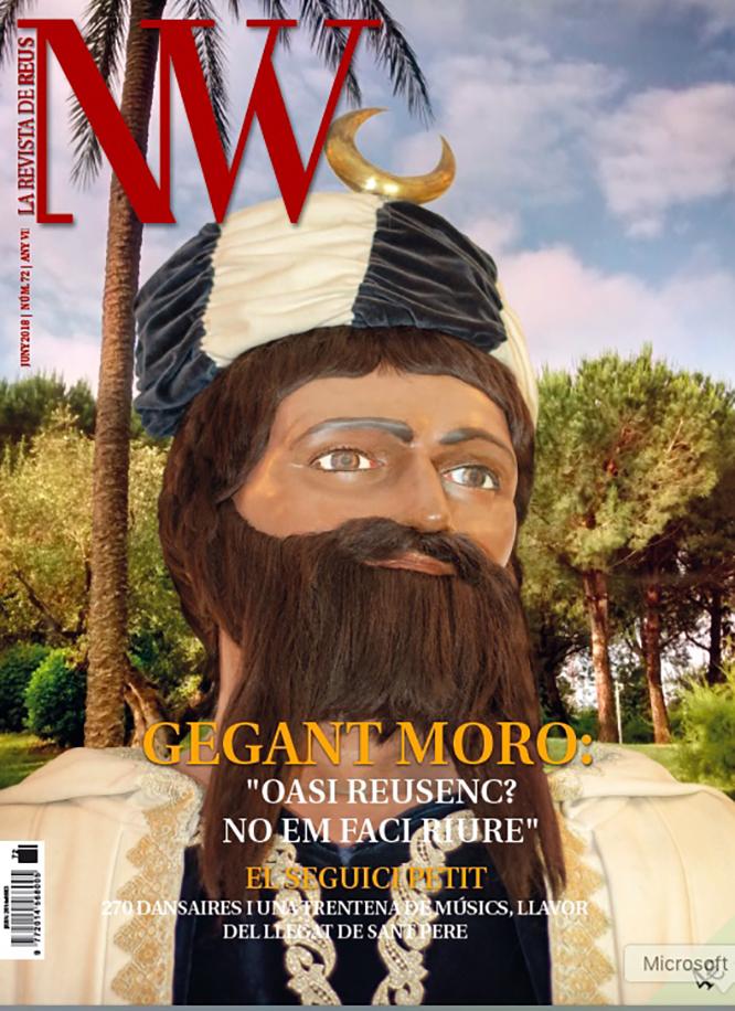 La portada de la revista de Juny