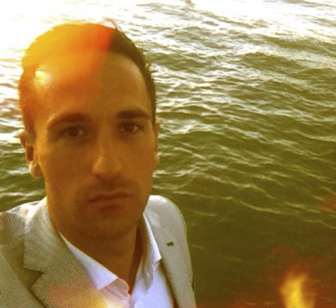 Oriol Tarragó, en la imatge del seu perfil a twitter.